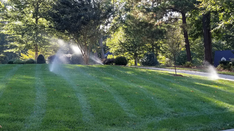 Lawn Sprinkler Troubleshooting in Raleigh, North Carolina